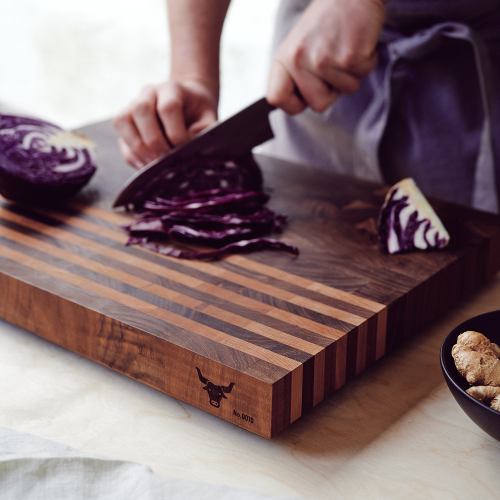 The Ox Wooden Chopping Board
