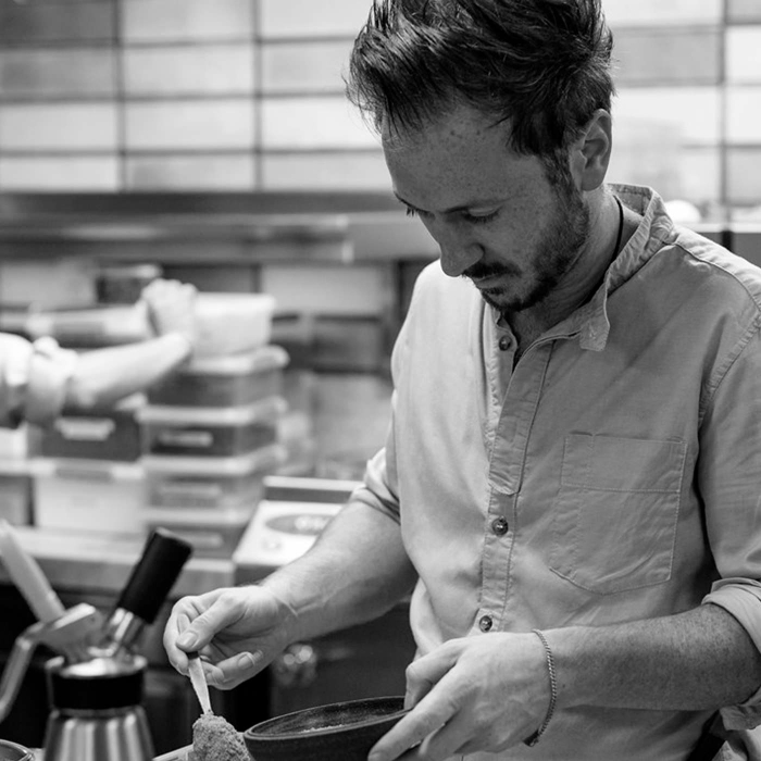 Ollie Dabbous Chef
